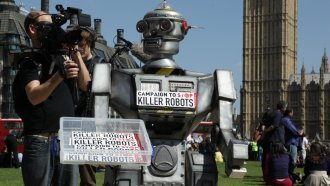 The Campaign To Ban Killer Robots Before They Become A Reality