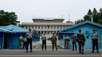 The Korean DMZ Has Kept Two Massive Militaries Apart For Decades