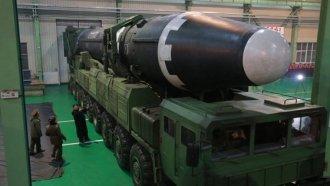 North Korea Reveals Footage Of New Ballistic Missile