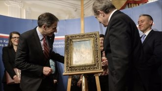 With The FBI's Help, Poland Gets Back A Painting The Nazis Stole