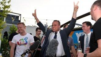Australian Lawmaker Proposes To Partner During Gay Marriage Debate