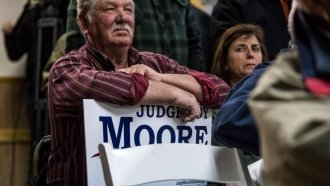 The White House Is Supporting Moore, Despite 'Concerning' Allegations