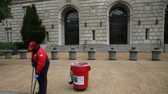 Federal employees face furlough in the event of a government shutdown