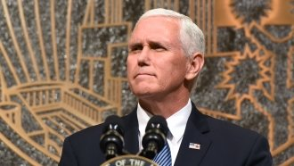 Pence Is Pushing Back His Trip To Israel