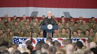 Pence's Afghanistan Trip Highlights Administration's Afghan Strategy