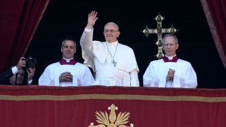 Pope Francis' Christmas Address Urges Israeli-Palestinian Peace