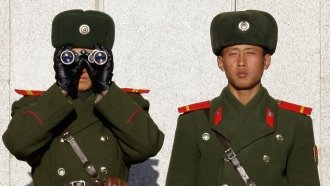 Report: North Korean Soldier Who Defected South Has Anthrax Immunity