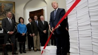 Trump Touts His 2017 Deregulation Efforts, But Experts Are Skeptical