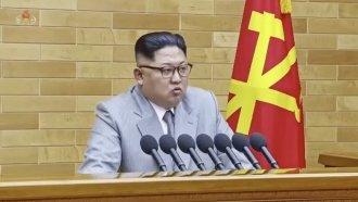 Kim Jong-Un Seemed To Extend An Olive Branch To South Korea
