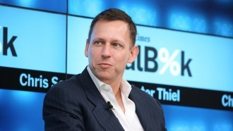Peter Thiel's Venture Capital Company Is Apparently Big Into Bitcoin