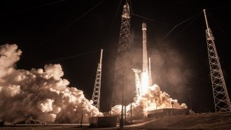 SpaceX Might Have Lost A Super-Secret US Government Satellite