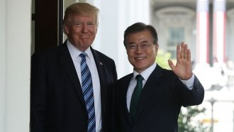 South Korean President Says Trump Helped Make North Korea Talks Happen