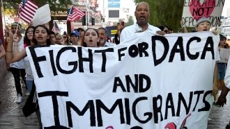 In Tweets, Trump Suggests A DACA Deal Is Unlikely