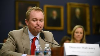 Mulvaney Asks For $0 To Fund The Consumer Financial Protection Bureau