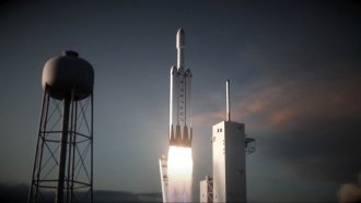 Guess How Many Engines SpaceX's Giant Falcon Heavy Rocket Has?