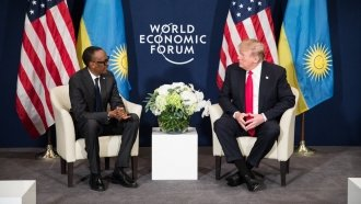 Trump Meets With Rwandan President After Alleged 'Shithole' Comment