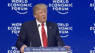 Trump Talks American Economy And Trade At World Economic Forum