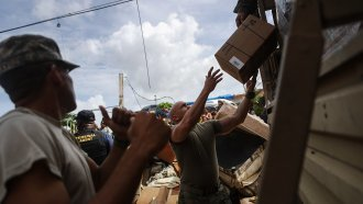 FEMA Says It's Not Ending Food Aid To Puerto Rico Just Yet