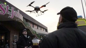 Drones Are Quickly Becoming Newest Members Of Police, Security Forces