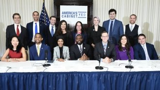 Not A Fan Of D.C. Drama? Meet 'America's Cabinet'