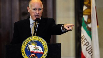 Gov. Jerry Brown Criticizes Trump Administration After DOJ Sues Calif.