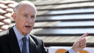 California's Gov. Wants Trump To Focus On 'Bridges, Not Walls'