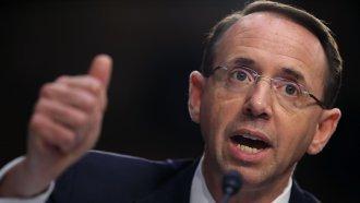 Deputy AG Rod Rosenstein Defends Robert Mueller's Job