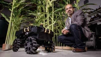 This Roomba-Like Robot Could Change How Farmers Care For Crops