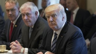 The Distance Between Tillerson's State Dept. And Trump's White House