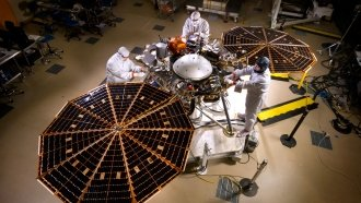 To Run A Mars Mission, NASA's InSight Lander Will Need Pi