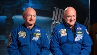 NASA's Twins Study Confirms A Long Time In Space Can Change Your Genes