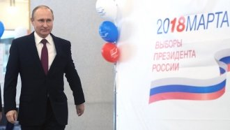Russian Voters Hand Putin A Broad New Mandate