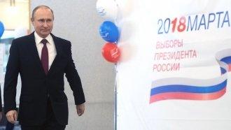 Russian Voters Hand Putin A Broad New Mandate