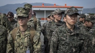 As N. Korean Tensions Thaw, US And S. Korea Begin Military Drills