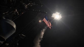US Strikes On Syria Could Put Russian Troops Under Fire