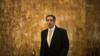 Trump Lawyer Michael Cohen Is Under Criminal Investigation, DOJ Says