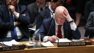 Russia's UN Draft Resolution To Condemn Missile Strikes In Syria Fails