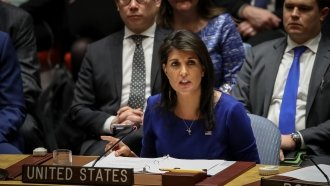 Haley Fires Back At Suggestion She Was Confused About Russia Sanctions