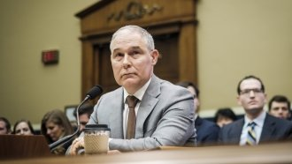 EPA Head Scott Pruitt Will Face 2 House Panels Thursday