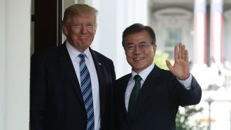 Trump Should Win The Nobel Peace Prize, South Korea's President Says