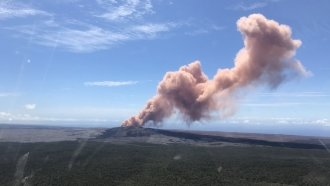 Hundreds Of Earthquakes Hit Hawaii's Big Island After Volcano Eruption