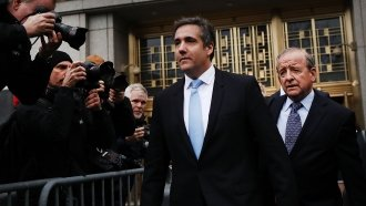 President Disclosed 2017 Payment To Michael Cohen In Financial Filing