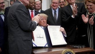 Trump Signs Bill To Repeal Some Banking Regulations