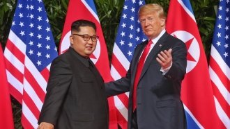 Trump And Kim Sign An Agreement On Denuclearization