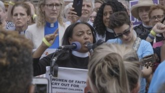 Faith Leaders Led A Prayer Vigil For Families Separated At The Border