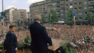 'Ich Bin Ein Berliner': The Legacy Of JFK's Speech 55 Years Later