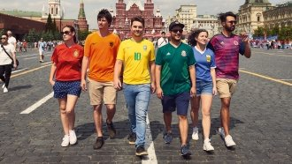 How To Smuggle A Pride Flag Into Russia During The World Cup