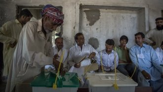 Explosion Kills At Least 31 As Pakistanis Head To The Polls