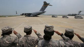 North Korea Returns Possible Remains Of 55 US Service Members