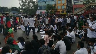 Why Students In Bangladesh Are Enforcing Traffic Safety Rules